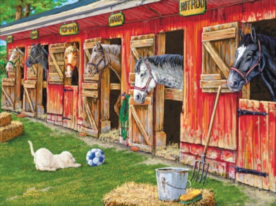 Part of the Boys Team - 1000pc Jigsaw Puzzle by Sunsout