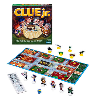 Clue Jr. - Board Game