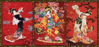 Oriental Trio - 1000pc Jigsaw Puzzle by SunsOut