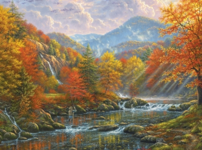Paradise Valley - 1000pc Jigsaw Puzzle by SunsOut