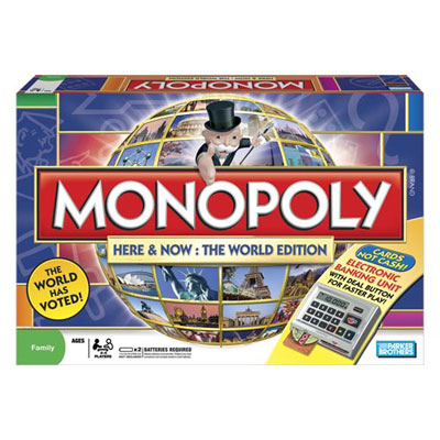 Monopoly: Here & Now World Edition - Board Game
