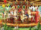 Carousel Ride - 1000pc Jigsaw Puzzle by Sunsout