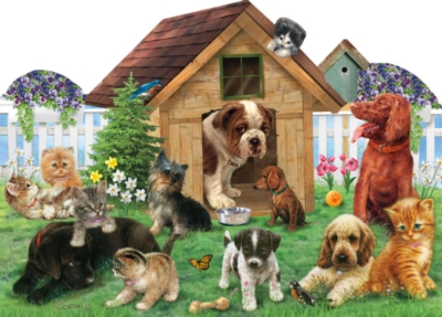 Welcome to the Playground - 900pc Shaped Jigsaw Puzzle by Sunsout