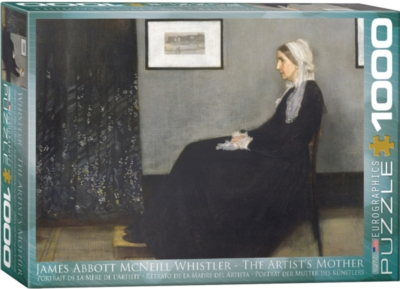 Artist Mother - James Abbott McNeill Whistler - 1000pc Jigsaw Puzzle by Eurographics