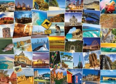 Globetrotter Australia - 1000pc Jigsaw Puzzle by EuroGraphics