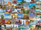 Globetrotter Mexico - 1000pc Jigsaw Puzzle by EuroGraphics