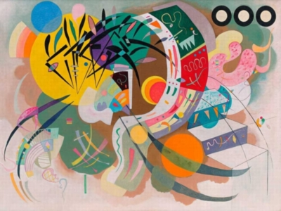 Dominant Curve / Wassily Kandinsky - 1000pc Jigsaw Puzzle by Eurographics