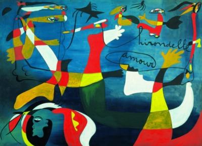 Joan Miro: Swallow, Love - 1000pc Jigsaw Puzzle by Eurographics