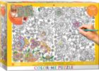 Color Me Puzzle: Hiden Butterflies - 300pc Color Yourself Jigsaw Puzzle by Eurographics