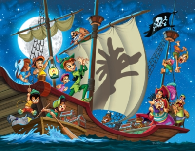 Classic Fairy Tales: Peter Pan - 35pc Jigsaw Puzzle by Eurographics