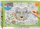 Color Me Puzzle: Tiger - 500pc Color Yourself Jigsaw Puzzle by Eurographics