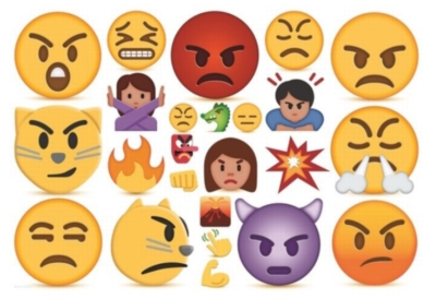Emojipuzzle - Anger - 100pc Jigsaw Puzzle by Eurographics