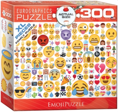 XL Large Format: Emojipuzzle - 300pc Jigsaw Puzzle by Eurographics