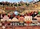 Charles Wysocki: Sleepy Town West - 1000pc Jigsaw Puzzle by Buffalo Games