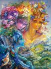 Josephine Wall: The Three Graces (Glitter Edition) - 1000pc Jigsaw Puzzle by Buffalo Games