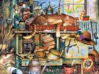 The Cats Of Charles Wysocki: Remington the Horticulturist - 750pc Jigsaw Puzzle by Buffalo Games