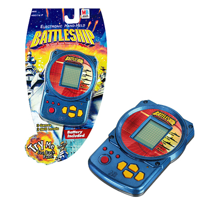 Battleship Electronic Hand Held Game - Travel Game