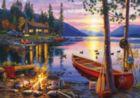 Canoe Lake - 300pc Jigsaw Puzzle by Buffalo Games