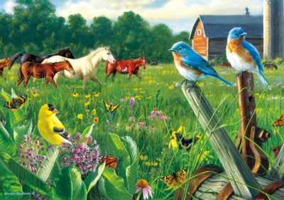 Country Meadow - 300pc Jigsaw Puzzle by Buffalo Games