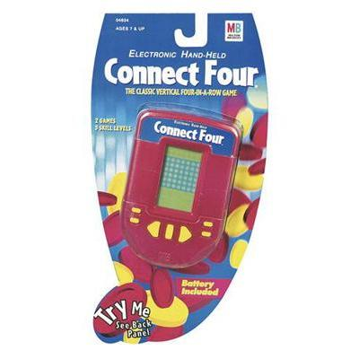 Connect Four Electronic Handheld - Travel Game
