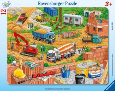 Work at the Construction Site - My First Frame Puzzle By Ravensburger