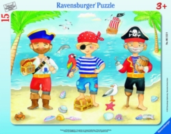 Pirates Voyage of Discovery - 15pc My First Frame Puzzle by Ravensburger