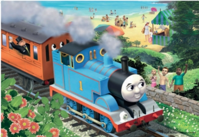 Thomas and Friends: Beach Days - 2 x 24pc Jigsaw Puzzles By Ravensburger