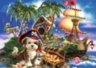 Puppy Pirate - 35pc Jigsaw Puzzle by Ravensburger