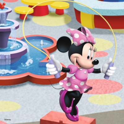 Mickey & Minnie: Beautiful Minnie Mouse - 3 x 49pc Jigsaw Puzzle by Ravensburger