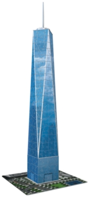 One World Trade Center NY - 216pc 3D Jigsaw Puzzle By Ravensburger