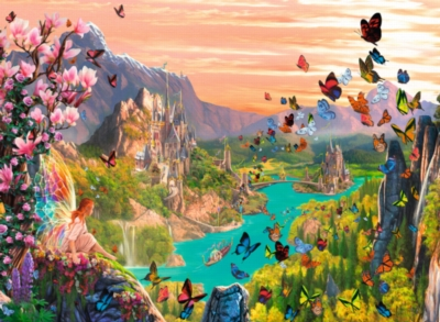Fairy Valley - 300pc Jigsaw Puzzle By Ravensburger