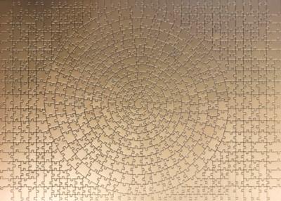 Krypt - Gold - 631pc Krypt Puzzle By Ravensburger
