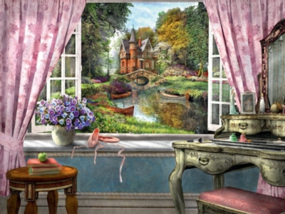 Bedroom View - 1500pc Jigsaw Puzzle By Ravensburger
