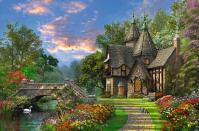 Tranquil Countryside - 3000pc Jigsaw Puzzle by Ravensburger