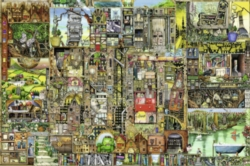 Colin Thompson: Bizarre Town - 5000pc Jigsaw Puzzle By Ravensburger