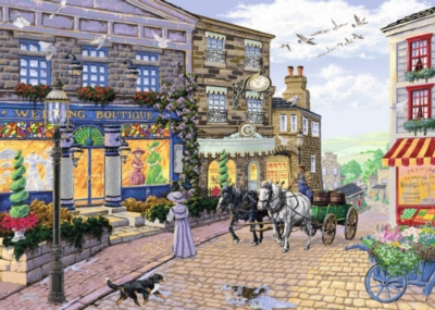 The Wedding Shop - 1000pc Jigsaw Puzzle by Ravensburger