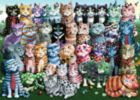 Cat Family Reunion - 1000pc Jigsaw Puzzle By Ravensburger