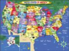 USA map - 300pc Jigsaw Puzzle by White Mountain