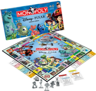 Monopoly: The Disney Pixar Edition - Board Game