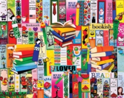 A colorful collection of bookmarks
