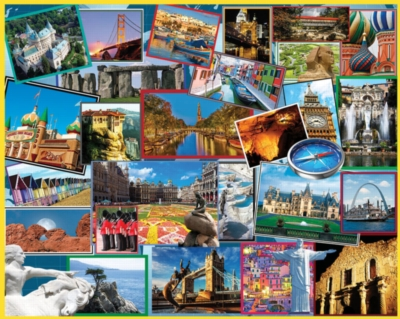Where in the World - 1000pc Jigsaw Puzzle by White Mountain
