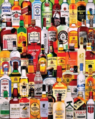 Fine Spirits - 1000pc Jigsaw Puzzle by White Mountain