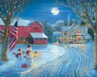 Moonlight Greeting - 1000pc Jigsaw Puzzle by White Mountain