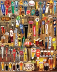 beer taps collection 1,000 piece puzzle