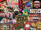 Casino - 550pc Jigsaw Puzzle by White Mountain