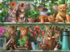 Kitties - 300pc EZ Grip Jigsaw Puzzle by White Mountain