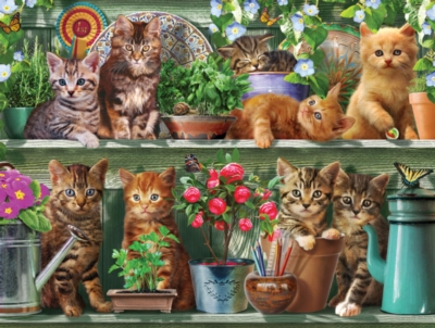 Spring Kittens 1,000 piece puzzle