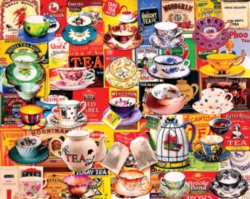 Tea, Please - 550pc Jigsaw Puzzle by White Mountain