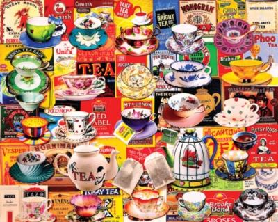 Tea, Please - 550pc Jigsaw Puzzle by White Mountain