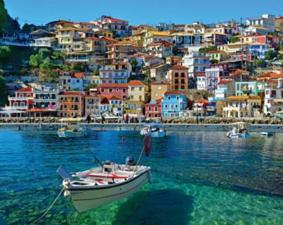 Parga, Greece - 1000pc Jigsaw Puzzle by White Mountain